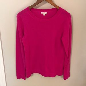 Mercantile by J. Crew bright pink sweater